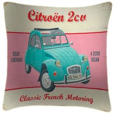 Citröen 2CV cushion • citroen 2CV