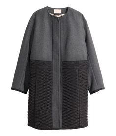 Coat in a wool blend | Product Detail | H&M