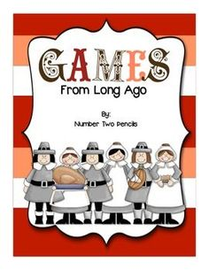 """This freebie includes a colonial board game as well as 4 other game descriptions that are easily made for your students to experience how children stayed entertained long ago. To compliment an olden day 'game day' in your classroom, you may also want to have an olden day """"chore day"""" and make some butter: http://www.teacherspayteachers.com/Product/Long-Ago-Experiment-Lets-Make-Butter-977697 Fonts by: www.letterdelights.com and helloliteracy.blogspot.comgraphics: www.digiwebstudios.com and…"""