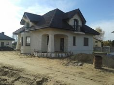 Projekt domu Ariadna III 135,2 m2 - koszt budowy 187 tys. zł - EXTRADOM Beautiful House Plans, Beautiful Homes, House Plans Mansion, Civil Construction, House Property, Bedroom Bed Design, Dream House Interior, Plan Design, House In The Woods
