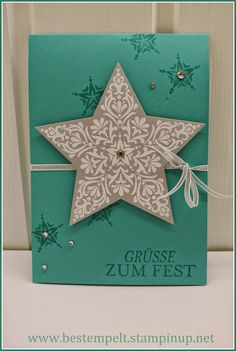 Stampin Up! Zauber der Weihnacht, Embossing, Bright & Beautiful, christmas-card