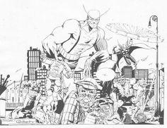 The original Avengers by Michael T. Gilbert