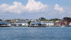 Greenport from the water
