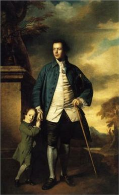 Edward Morant (my 5th great grandfather) and His Son John (my 4th great grandfather) - Joshua Reynolds