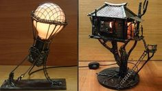 Awesome lamps! I so want to make the hot air balloon lamp!