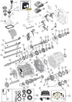 Transfer Case Dana 300 Exploded View Diagram The Dana 300