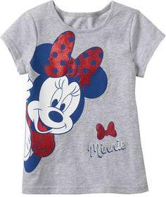 S minnie mouse girls glitter graphic tee disney shirts, di Disney Tees, Disney Shirts For Family, Shirts For Teens, Outfits For Teens, Girl Outfits, T Shirts For Women, Fashion Corner, Diy Shirt, Disney Girls