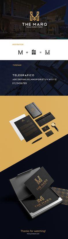J'aime beaucoup l'utilisation du noir pour la carte d'affaire l'enveloppe et le papier à lettre. Le résultat est très chic.