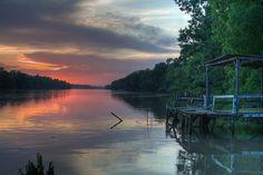 Bayou sunset. Photo by Sean Granier.