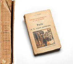 """Voyages Gastronomiques au Pays de France: Paris et la région parisienne,"" from The Charles and Maurice Prendergast Personal Book Collection."