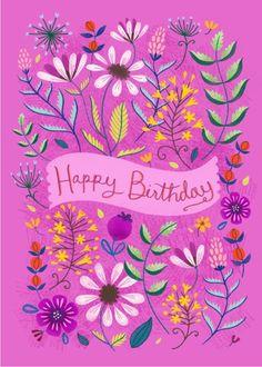 happy first birthday Happy Birthday Art, Happy Birthday Wishes Cards, Birthday Blessings, Happy Birthday Images, Birthday Love, Funny Birthday, Happy Birthday Printable, Birthday Sayings, Happy Birthdays