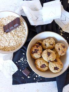 J'en connais un à la maison qui me réclame ces cookies sans gluten aux flocons de céréales : une version muesli et délicieusement rock'n'roll des traditionnels cookies.
