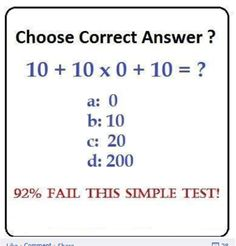 The Answer is 20