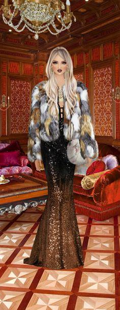 Fashion Dress Up Games, Covet Fashion Games, Fashion Dolls, Fashion Art, Fashion Dresses, Womens Fashion, Digital Art Girl, Dressed To The Nines, Fashion Sketches