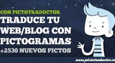 TRADUCCIÓN DEL CONTENIDO DE PÁGINAS WEB Y BLOGS A PICTOGRAMAS