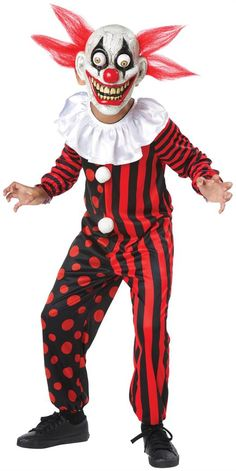Googly Eye Clown Costume Child Medium - Clowns -You can find Clowns and more on our website.