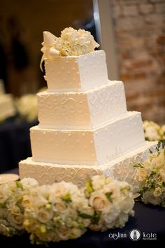 Beautiful Wedding Cake from Publix!