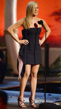 Jennifer Aniston's 29 Best Little Black Dresses Ever - June 8, 2013 from #InStyle