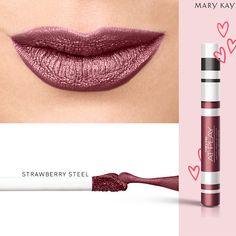 Labial liquido metalico Mary Kay Ash, At Play Mary Kay, Spa Facial, Batons Matte, Mary Kay Makeup, Lip Colors, Avon, Make Up, Lipstick