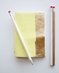 DIY notebooks via AT