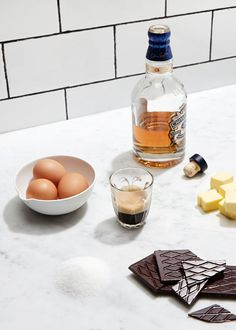THE DESIGN FILES TASTY TUESDAY | Chocolate, Espresso and Whisky Mousse. Recipe and food by Jade Bentley of Monsieur Truffe, photo by Sean Fennessy, and styling / production by Lucy Feagins / The Design Files. Full recipe available at thedesignfiles.net