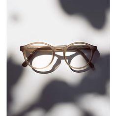 Contemporary classic: Panto-shaped ELIAS in semi-transparent Taupe. #MYKITA #handmadeinberlin