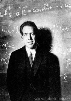 """Niels Bohr (7 October 1885 – 18 November 1962) was a Danish physicist who made foundational contributions to understanding atomic structure and quantum mechanics.  """"A physicist is just an atom's way of looking at itself.""""  --Neils Bohr"""