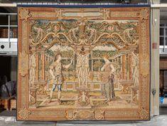 Brüssel um 1550 Vertumnus naht Pomona als Winzer Medieval Manuscript, Renaissance, Rugs, Furniture, Home Decor, Farmhouse Rugs, Decoration Home, Room Decor, Home Furnishings
