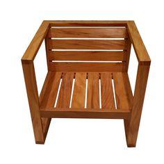 PT 07 A - poltrona sofá conjunto de sofá em madeira peroba rosa bela rústica móvel de madeira itu