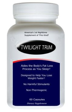 Twilight Trim: Evening Weight Loss Supplement - BodSkin