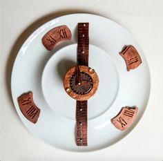 L'instant Chocolat: un dessert en forme de montre symbolisant la collaboration entre Bucherer et l'hôtel Westminster
