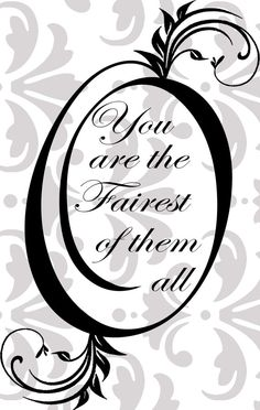 Mirror Mirror on the wall you are the fairest by edithandelizabeth, £10.00