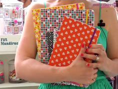 Fifi Mandirac textbooks, carnets, etc. Ok, I <3 Fifi Mandirac!