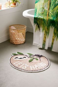 As we know that bath mats are washable and inexpensive, but this should not stop us from creating our own DIY version. The most surprising thing in this is to create DIY bath mats with unconventional material. Peach Bathroom, Bathroom Spa, Bathroom Rugs, Bathroom Ideas, Neutral Bathroom, Bathroom Remodeling, College Bathroom, Bathroom Beadboard, Bathroom Gadgets