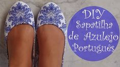✂ DIY | Sapatilha de Azulejo Português (Up na Sapatilha Velha)YOU MAY ALSO LIKE