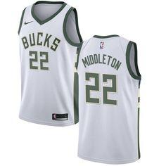 Nike Bucks  22 Khris Middleton White NBA Swingman Association Edition Jersey 212b89a3eb1