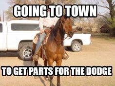 Meme Maker - Going to town to get parts for the Dodge Meme Maker!