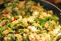 cooking with nothing | Quinoa salad with sumac (low FODMAP)