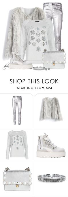 """""""Embellished Sweater"""" by dgia ❤ liked on Polyvore featuring Étoile Isabel Marant, Chicwish, M&S, Puma, Fendi, Bling Jewelry and Kate Spade"""