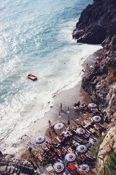 Amalfi Coast in Praiano, Italy