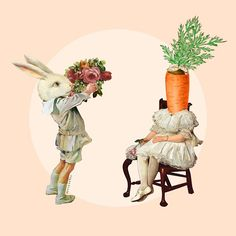 """""She said no because I may eat her."" #collageart #collage #digitalcollage #art #design #rsa_Graphics #artwork #collagecollectiveco #collageartist #コラージュ #콜라주 #photoshop #graphicdesign #surrealism #surrealart #surreal #rabbit #bunny #carrot #love #huntgram"" Photo taken by @sigmablade on Instagram, pinned via the InstaPin iOS App! http://www.instapinapp.com (11/17/2014)"