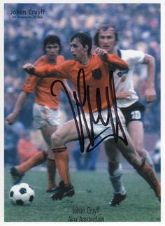 Johan Cruijff op het WK van 1974 tegen de DDR (2-0 winst voor Nederland)