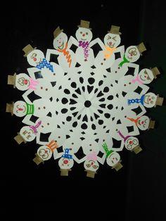 étoile noël en papier