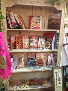 Cookbooks Galore at Crawford's Gifts Athens, AL