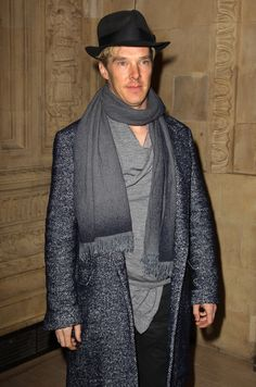 Never knowingly under-accessorised. | 25 Things That Prove Benedict Cumberbatch Is The Perfect Man