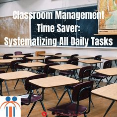 Classroom Management Time Saver: Systematizing All Daily Tasks