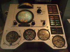 Part of Vostok-1 spacecraft control panel