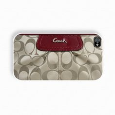 Coach Inspired- iPhone 4 Case, iPhone case, iPhone 4s Case, iPhone 4 Cover, Hard iPhone 4s Case. .