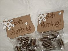 Bah Humbug - to cheer up someone with the Christmas grumps! Christmas Fundraising Ideas, Christmas Stall Ideas, Christmas Fayre Ideas, Christmas Craft Fair, Christmas Hamper, Christmas Eve Box, Christmas Sweets, Christmas Makes, Christmas Goodies