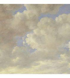 KEK Amsterdam Behang Golden Age Clouds II multicolor vliespapier 389,6x280cm - wonenmetlef.nl